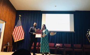 Presentation on the disruptive implications of resource conflicts at the US embassy, New Delhi
