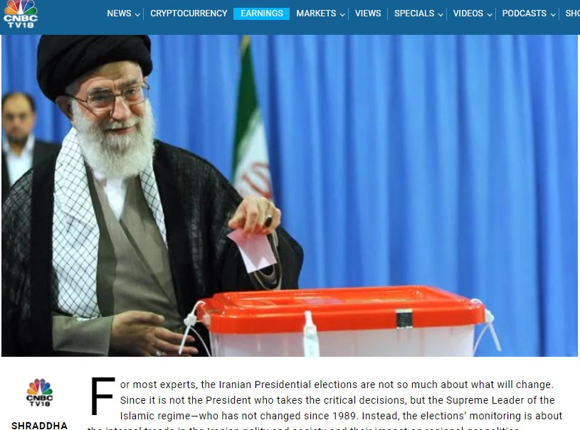 Iran presidential elections: Battle for political succession amidst rising unpopularity of Islamic regime
