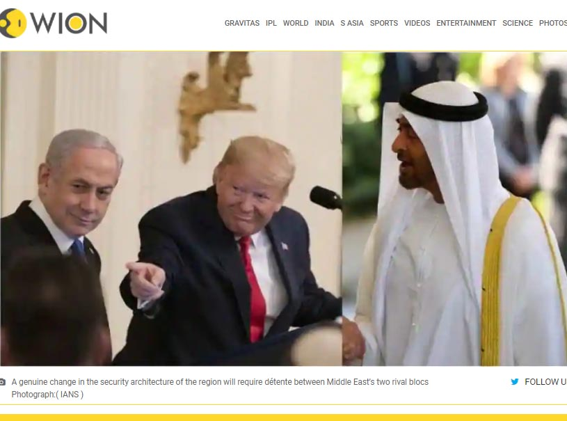 Israel-UAE deal: A symbolic peace unlikely to address the conflict triggers in Middle East